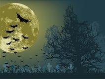 плакат halloween Стоковое Изображение RF