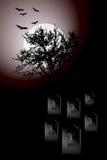 Плакат Halloween Стоковые Фото