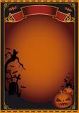 плакат halloween Стоковые Фотографии RF