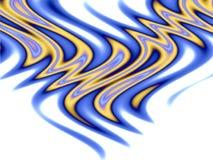 пламена над соплеменной белизной Стоковое фото RF