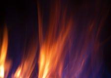 пламена пожара Иллюстрация штока