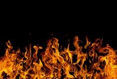 пламена пожара стоковая фотография rf