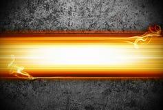 пламена предпосылки Стоковая Фотография RF