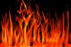 пламена Стоковая Фотография