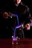 Пламенеющее питье стоковая фотография rf