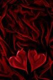пламенеющие сердца Стоковая Фотография RF