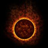 пламенеющий глобус Стоковая Фотография