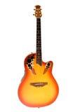 пламенистая гитара Стоковое Изображение RF