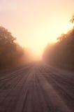 пламенистая дорога Стоковое фото RF