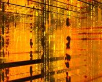 пламенистая матрица Стоковая Фотография RF
