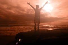 пламенистая слава Стоковая Фотография RF