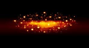 пламенистое предпосылки темное Стоковые Фото