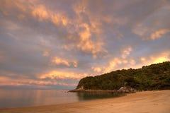 пламенистый остров стоковые фотографии rf