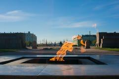 Пламя вечное Стоковое Изображение RF
