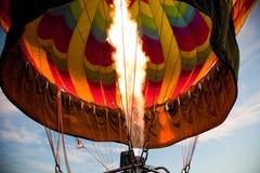 пламя воздушного шара Стоковое Фото