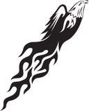 пламя орла Стоковая Фотография