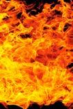 пламя пожара предпосылки Стоковая Фотография RF