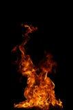 пламя пожара совершенное Стоковые Фото