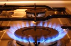 пламя пожара Стоковая Фотография