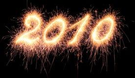 пламя 2010 Стоковая Фотография