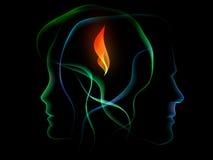 пламя bonding Стоковые Фото