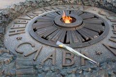 пламя kiev ethernal Стоковые Фотографии RF