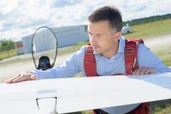 Планер исправляя крыло стоковые изображения rf