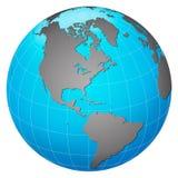 планета земли америки центральная Стоковые Изображения RF