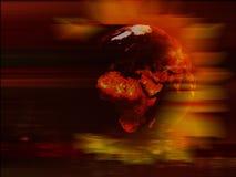 планета земли предпосылки Стоковое Изображение RF