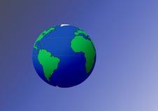 планета земли Стоковая Фотография RF