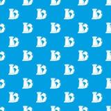 Планета и шахмат мира rook синь картины безшовная Стоковая Фотография RF