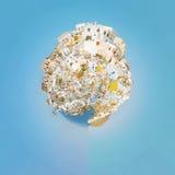 планета панорамы 02 oia Стоковые Изображения