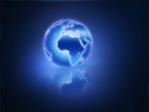 планета светя Стоковое Изображение