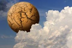 планета смерти Стоковые Фото
