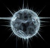 планета фрактали Стоковое фото RF