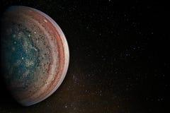 Планета Юпитера стоковые фото