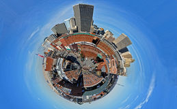 планета bricktown Стоковая Фотография RF