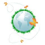 Планета Eco Стоковое фото RF
