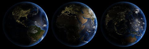 планета res земли высокая Стоковая Фотография RF