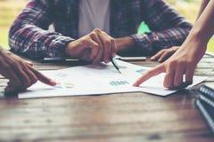 Планирование корпоративного бизнеса с концепцией сыгранности диаграммы дела Стоковое Фото