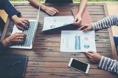 Планирование корпоративного бизнеса с концепцией сыгранности диаграммы дела Стоковое Изображение