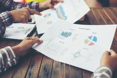 Планирование корпоративного бизнеса с концепцией сыгранности диаграммы дела Стоковые Фото