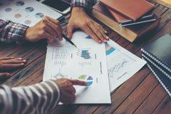 Планирование корпоративного бизнеса с концепцией сыгранности диаграммы дела Стоковое Изображение RF