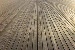 планки деревянные Стоковая Фотография