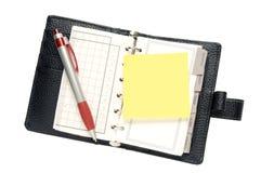 плановик дневника Стоковое фото RF