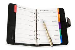 плановик дневника Стоковое Изображение RF