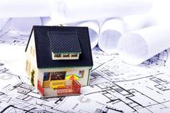 планы дома Стоковое Фото