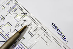 планы здания Стоковые Изображения