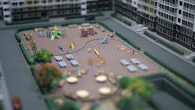 План города сток-видео
