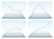 план-график различный Стоковая Фотография